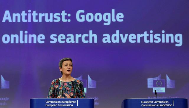 Cạnh tranh bẩn, Google bị phạt 1,7 tỉ USD - Ảnh 1.