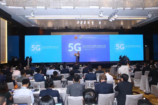 Mong muốn ASEAN phẳng về  5G và kinh tế số - Ảnh 1.