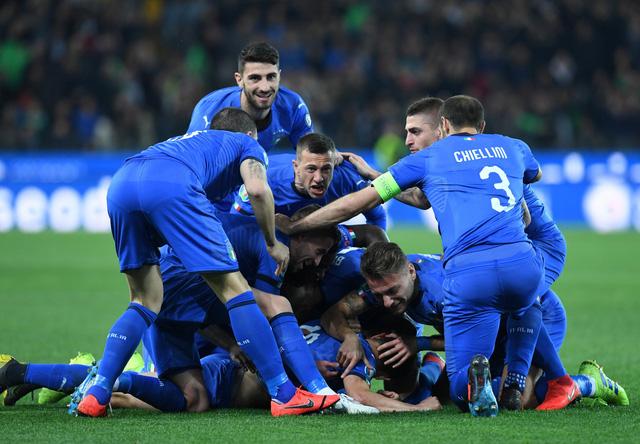 Tuyển Ý khởi đầu suôn sẻ ở vòng loại Euro 2020 - Ảnh 1.