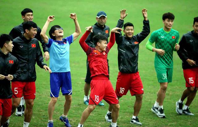 U23 Việt Nam hãy thoải mái vào trận - Ảnh 1.