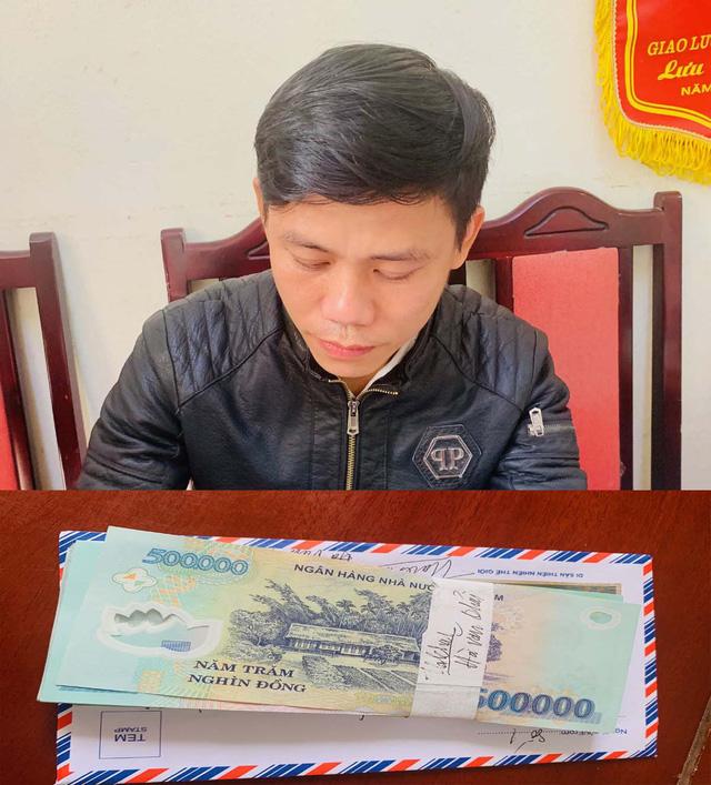 Bắt nghi phạm mượn mác nhà báo tống tiền doanh nghiệp - Ảnh 1.