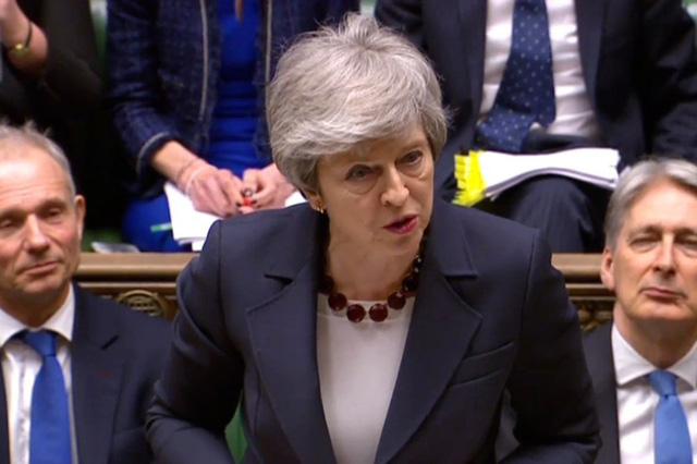 Thủ tướng Anh cam kết từ nhiệm nếu thỏa thuận Brexit được thông qua - Ảnh 1.
