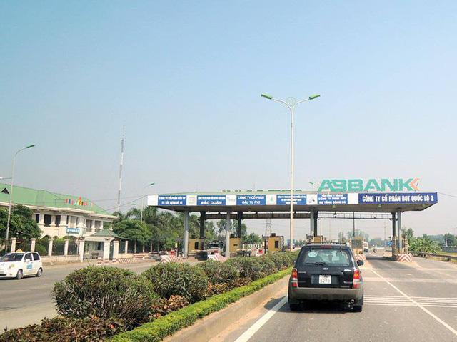 Truy thu chủ dự án BOT quốc lộ 2 gần 1,2 tỉ đồng - Ảnh 1.