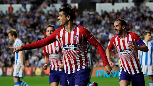 Morata tỏa sáng, Atletico kiên cường bám đuổi Barcelona - Ảnh 3.