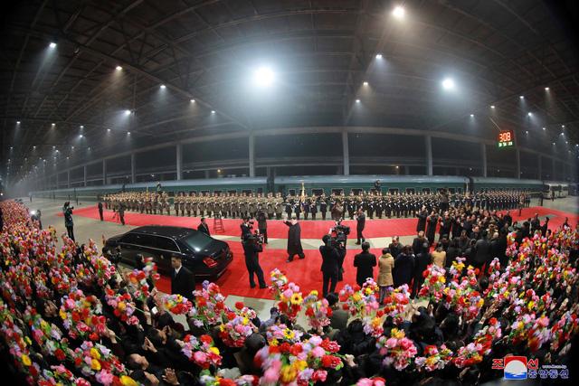 Ông Kim Jong Un đã về tới Bình Nhưỡng - Ảnh 1.