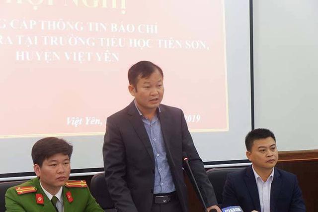 Không đủ căn cứ chứng minh thầy giáo dâm ô học sinh ở Bắc Giang - Ảnh 1.