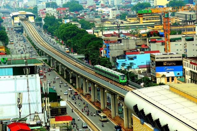 Giá vé đường sắt trên cao Hà Nội tuyến Cát Linh - Hà Đông cao nhất là 15.000 đồng/lượt - Ảnh 1.