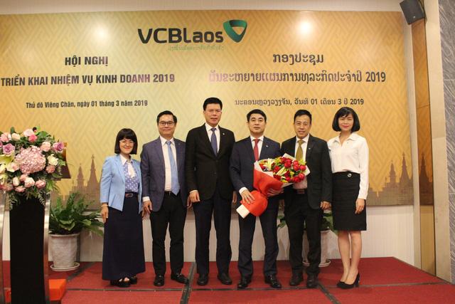 Vietcombank Lào tổ chức Hội nghị triển khai nhiệm vụ kinh doanh năm 2019 - Ảnh 1.