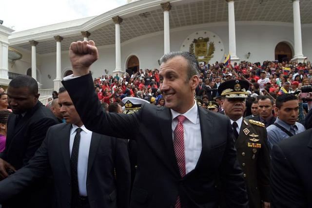 Mỹ công bố cáo buộc hình sự với Bộ trưởng Công nghiệp Venezuela - Ảnh 1.