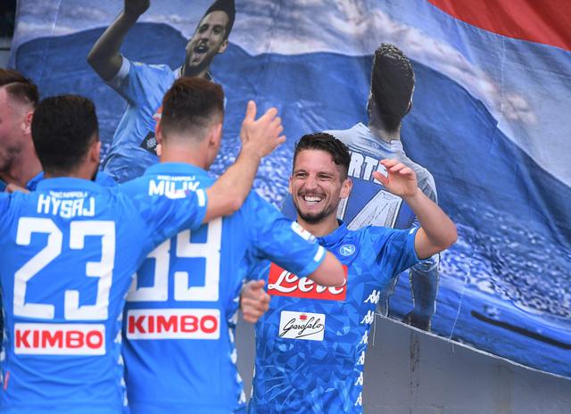 AS Roma thua đậm Napoli tại Olimpico - Ảnh 2.