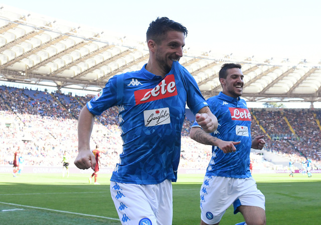 AS Roma thua đậm Napoli tại Olimpico - Ảnh 1.