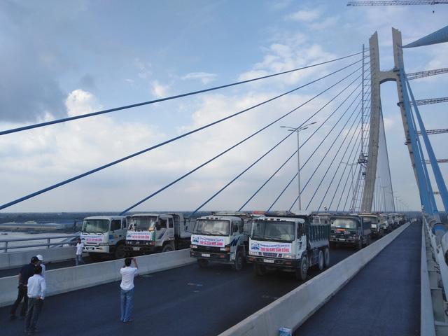 Đầu tháng 6 thông xe cầu Vàm Cống nối Đồng Tháp - Cần Thơ - Ảnh 2.