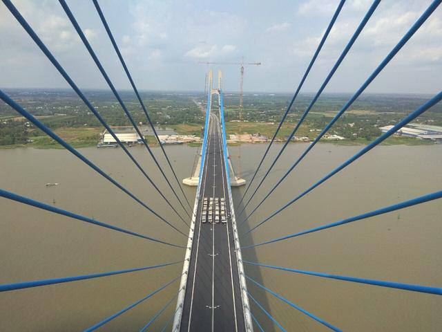 Đầu tháng 6 thông xe cầu Vàm Cống nối Đồng Tháp - Cần Thơ - Ảnh 3.
