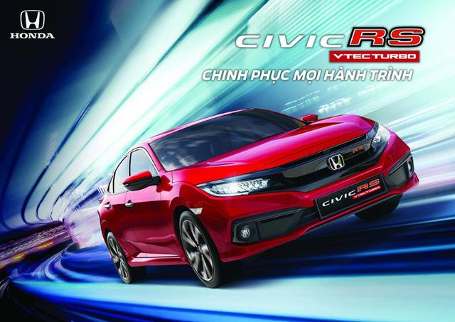 Chính thức ra mắt và công bố giá bán lẻ Honda Civic 2019 - Ảnh 1.