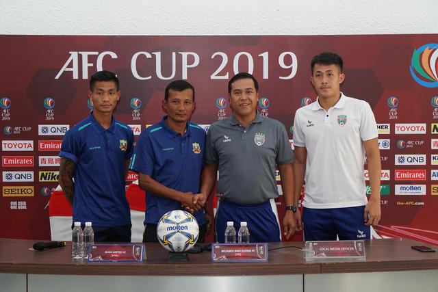 Tiền đạo U23 VN Tiến Linh có thể ra sân trong trận B.Bình Dương - Shan United - Ảnh 1.