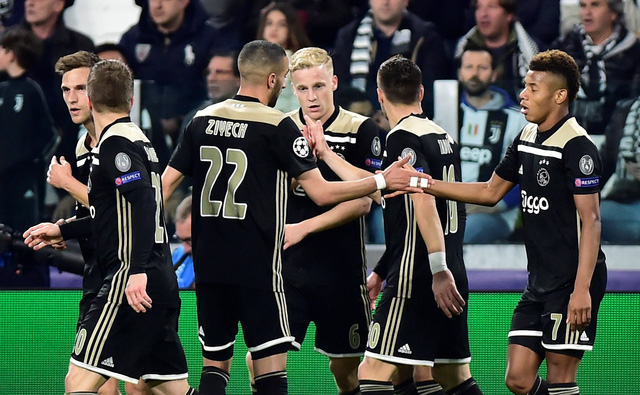 Thua ngược Ajax, Ronaldo và đồng đội dừng bước ở tứ kết - Ảnh 2.