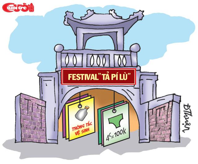 Festival Văn hóa truyền thống bán thuốc trị hôi nách! - Ảnh 1.