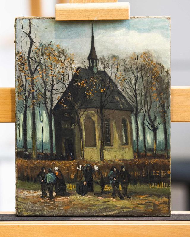 Hai bức tranh của Van Gogh bị lấy đi chỉ trong 3 phút 40 giây - Ảnh 4.