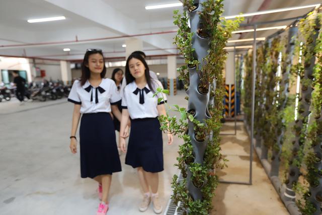 180 học sinh lớp 10 mời cha mẹ, thầy cô đầu tư kinh doanh trong trường - Ảnh 3.