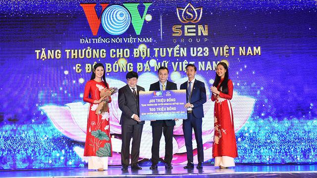 Tuyển nữ Việt Nam nhận thêm  600 triệu tiền thưởng - Ảnh 1.