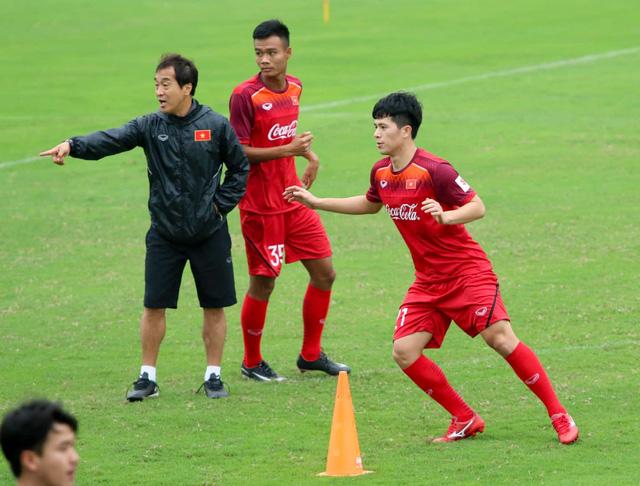 Tuyển U23 Việt Nam đá giao hữu với U23 Myanmar - Ảnh 1.