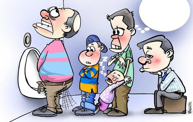 Triệu chứng đường tiểu dưới - Ảnh 1.