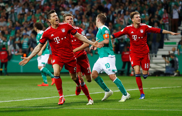 Lewandowski lập cú đúp, Bayern vào chung kết cúp quốc gia Đức - Ảnh 3.