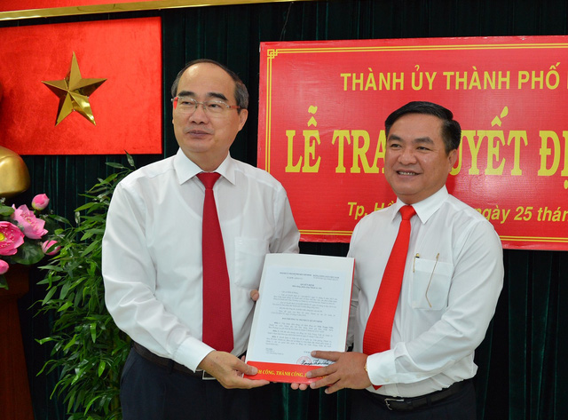 Ông Trần Trọng Tuấn làm bí thư quận 3 - Ảnh 1.