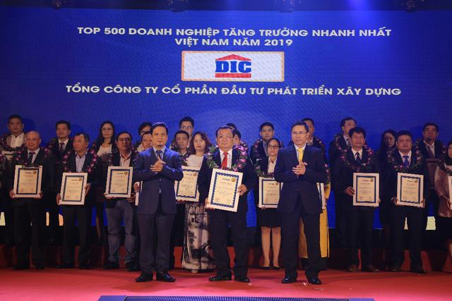 Tăng trưởng nhanh, tập đoàn DIC nằm trong bảng xếp hạng FAST500 - Ảnh 1.