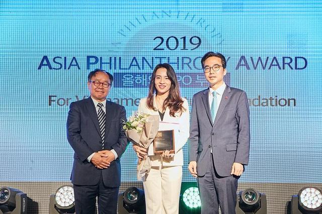 Quỹ Vì Tầm Vóc Việt nhận giải thưởng tại Hàn Quốc - Ảnh 1.