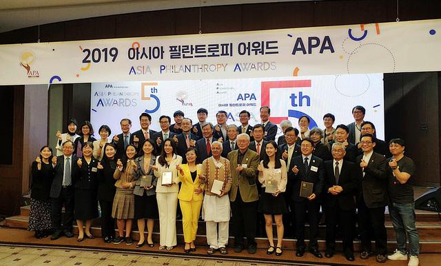 Quỹ Vì Tầm Vóc Việt nhận giải thưởng tại Hàn Quốc - Ảnh 2.