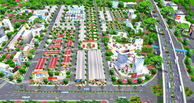 Nhà phố thương mại Long Thành hút khách - Ảnh 2.