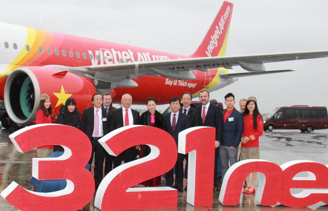 Vietjet nhận bàn giao máy bay thế hệ mới A321neo - Ảnh 3.