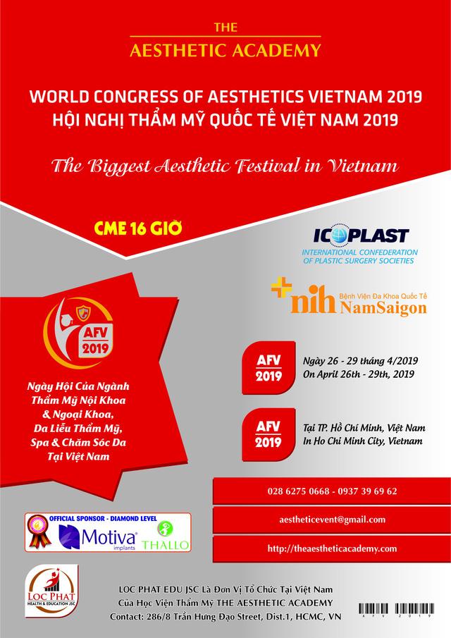 Đại Hội Thẩm Mỹ Quốc Tế Việt Nam 2019 - Ảnh 2.