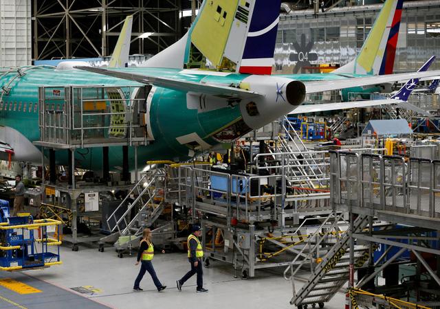 Boeing cắt giảm sản xuất gần 20% số lượng 737 MAX hàng tháng - Ảnh 1.