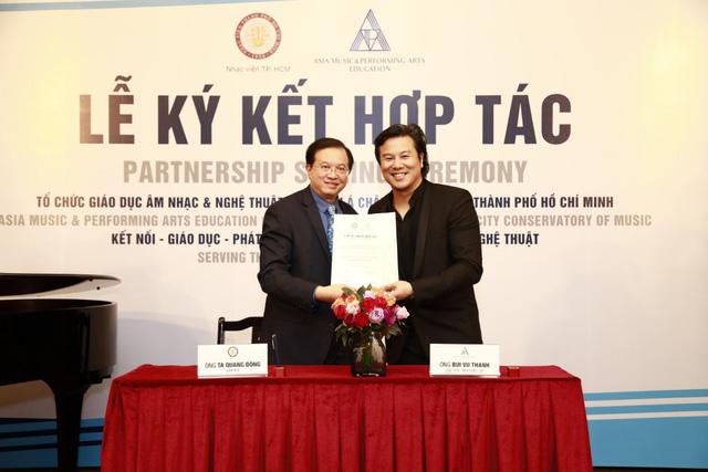 Nhạc viện TP.HCM có đối tác cùng phát triển trách nhiệm cộng đồng - Ảnh 1.