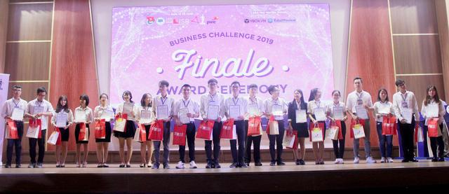 Bốn thí sinh xuất sắc nhất của Cuộc thi Chiến lược kinh doanh 2019 - Ảnh 1.