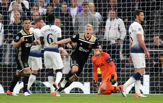 Đá bại Tottenham, Ajax rộng cửa vào chung kết Champions League - Ảnh 2.