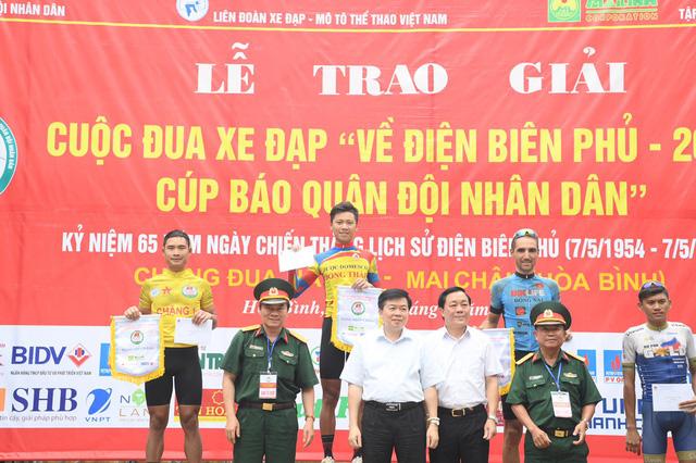 """Phan Hoàng Thái về nhất chặng 2 Giải đua xe đạp """"Về Điện Biên Phủ 2019"""" - Ảnh 2."""