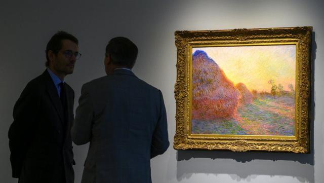 Tranh Monet được bán với giá kỷ lục 110,7 triệu USD - Ảnh 1.