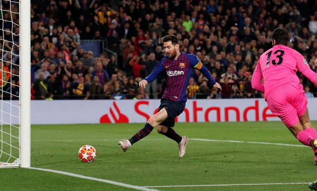 Messi rực sáng, Barcelona đè bẹp Liverpool 3-0 tại Nou Camp - Ảnh 2.