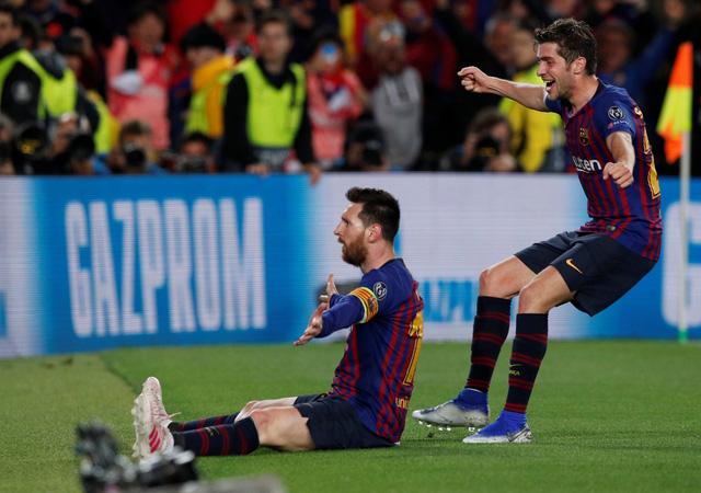 Messi rực sáng, Barcelona đè bẹp Liverpool 3-0 tại Nou Camp - Ảnh 3.