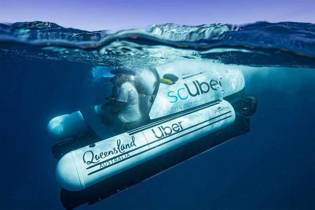 Australia bắt tay Uber tổ chức hoạt động du lịch bằng tàu ngầm - Ảnh 1.