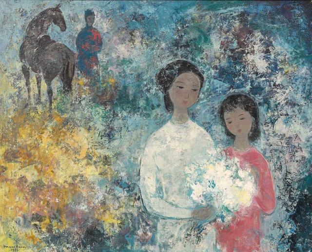 Tranh khỏa thân của Lê Phổ được mua giá kỷ lục 1,4 triệu USD - Ảnh 6.