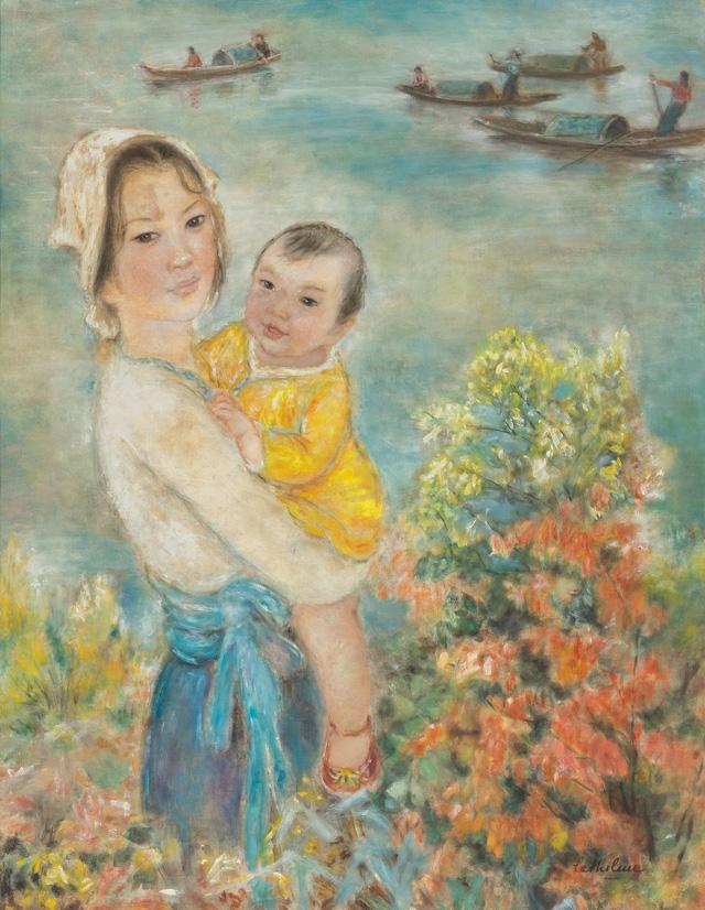 Tranh khỏa thân của Lê Phổ được mua giá kỷ lục 1,4 triệu USD - Ảnh 11.