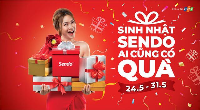 Sendo tổ chức chương trình mua sắm lớn mừng sinh nhật 7 tuổi - Ảnh 1.