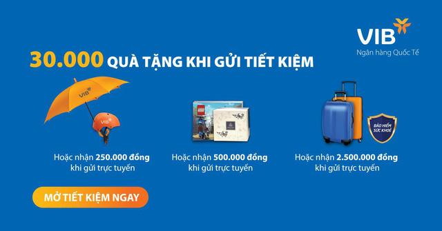 Gửi tiết kiệm online nhận ngay đến 2,5 triệu đồng - Ảnh 1.