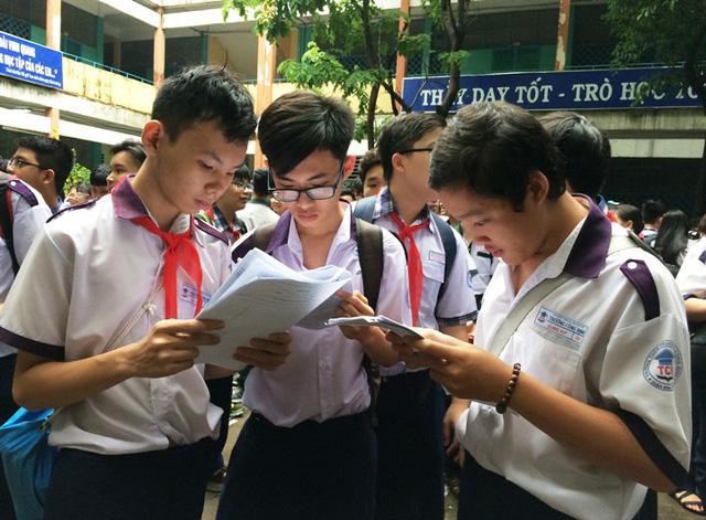 Học sinh TPHCM có 1 tuần để điều chỉnh nguyện vọng thi lớp 10 - Ảnh 1.