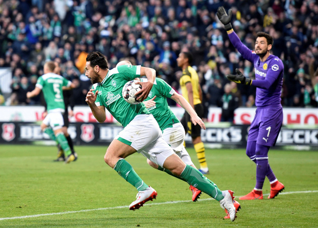 Đánh rơi chiến thắng trước Bremen, Dortmund cạn hi vọng vô địch - Ảnh 2.