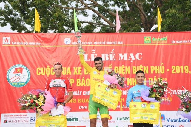 Mirsamad Pourseyed giành áo vàng cuộc đua xe đạp Về Điện Biên Phủ 2019 - Ảnh 1.